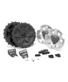 Kit roues terrain pentu/accidenté 420 - 430X - 440 - 450X Automower Husqvarna